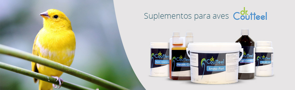 suplementos para aves dr Coutteel